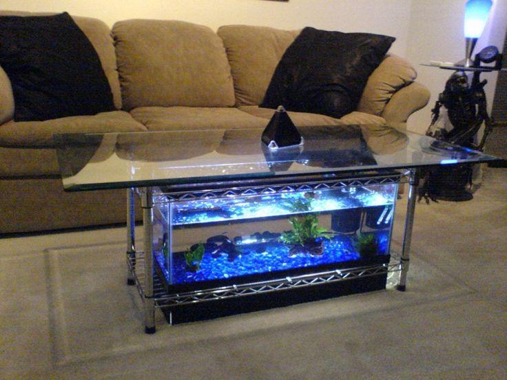 Small Unique Aquarium Design Ideas ~ http://www.lookmyhomes.com/pick-one-of-unique-aquariums-design-ideas-for-your-fish/