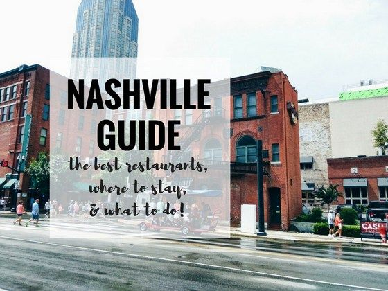 My Little Guide To Nashville