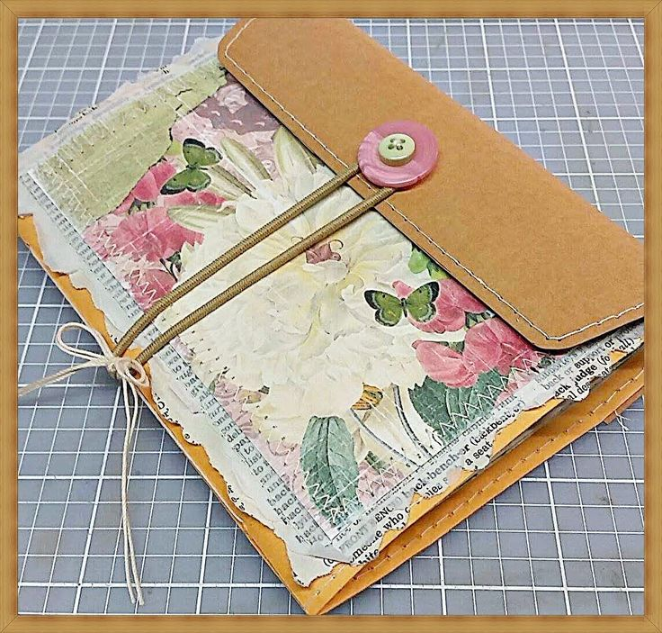 DT Project~Miss Lady Fay~Clasp Envelope Journal