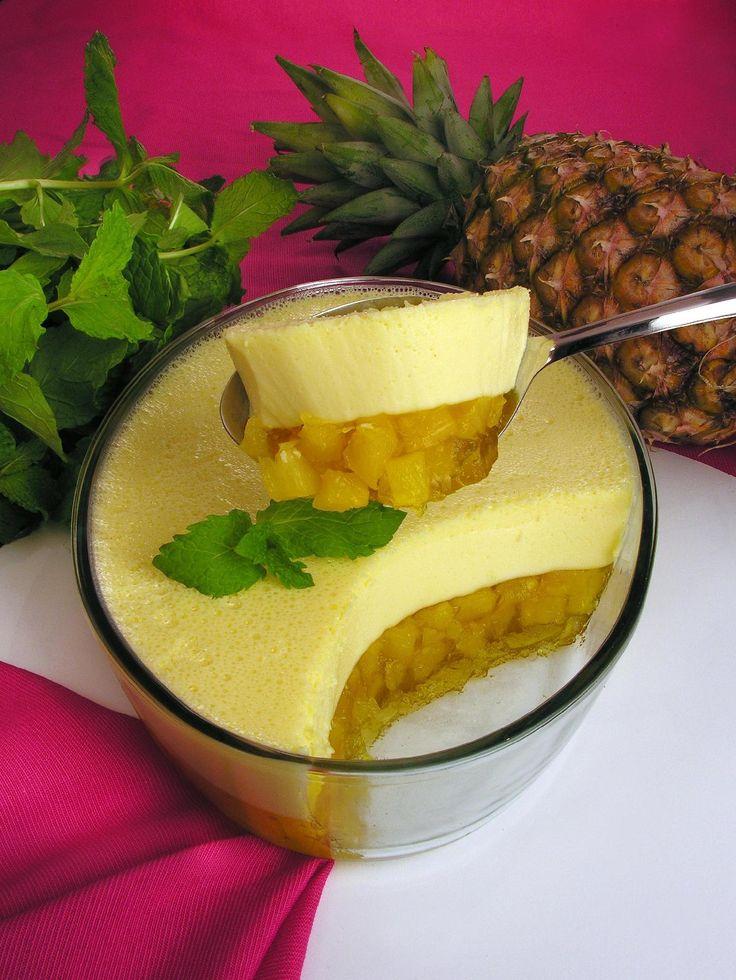 Gelatina especial de abacaxi