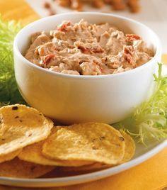 Dip de frijol con queso y chipotle