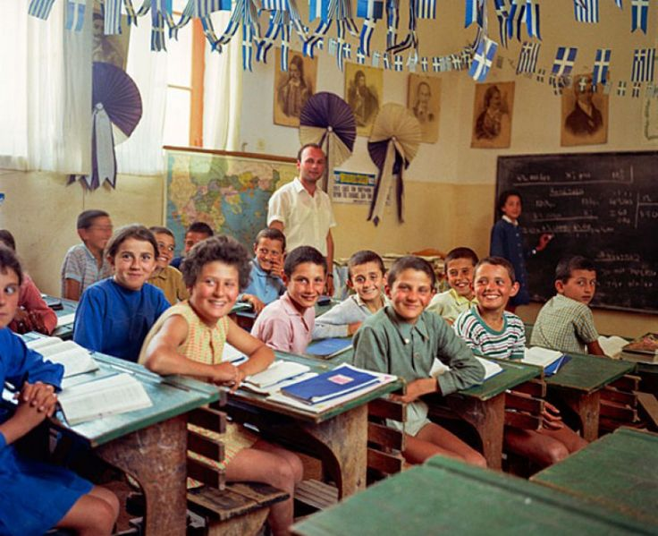 ΚΥΘΗΡΑ. Σχολείο 1950.