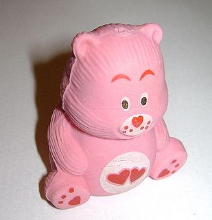 CARE BEARS Orsetti del cuore 80s italy eraser - rubber - gomma gommina