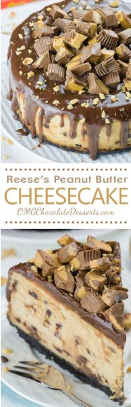 cool Peanut Butter Cheesecake