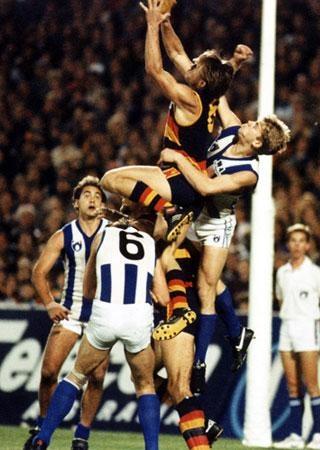 Tony Modra. AFL Highlight real specialist.    http://www.youtube.com/watch?v=7VnPNXM-DAc=youtube_gdata_player