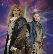 Ron Perlman and Roy Dotrice in Beauty and the Beast (1987)