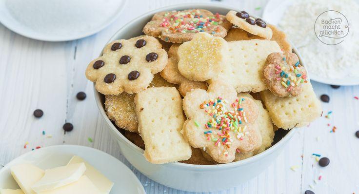 Für diese extrem schnellen Kekse ohne Ei und Milch braucht ihr nur 3 Zutaten, die wirklich jeder zuhause hat. Das wohl einfachste Keksrezept überhaupt!