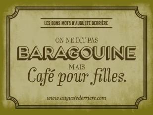 Parfois tirés par les cheveux, un peu lourds et frolant l'absurde, voici quelques jeux de mots d'un certain Auguste Derrière...