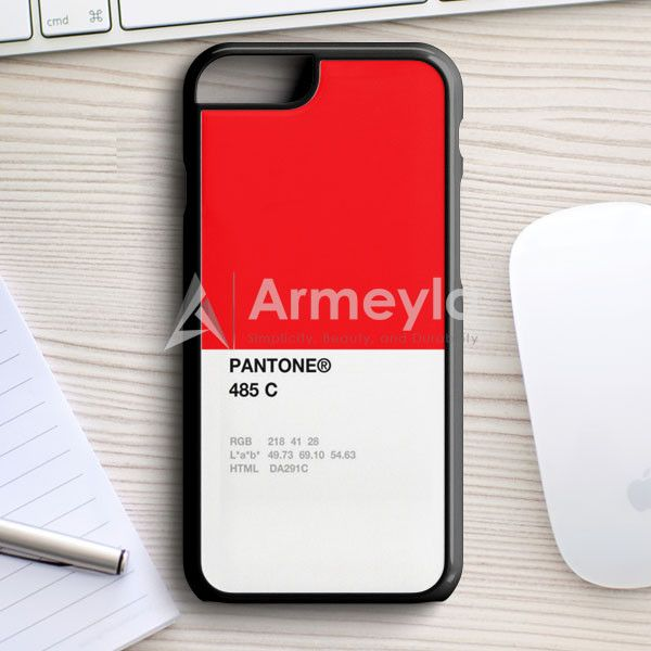 Pantone 485 C iPhone 7 Case | armeyla.com
