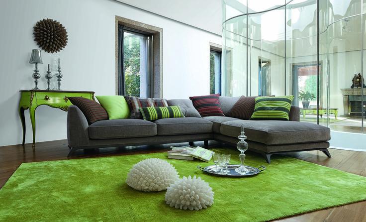 roche bobois edena sofa design philippe bouix. Black Bedroom Furniture Sets. Home Design Ideas