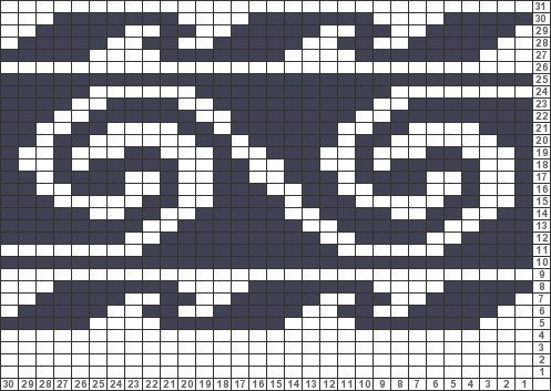 67 best Fair Isle pattern images on Pinterest | Knit patterns ...