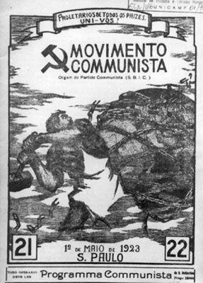 CMI Brasil - 1° artigo da série: 90 anos do Partido Comunista do Brasil (PCB)