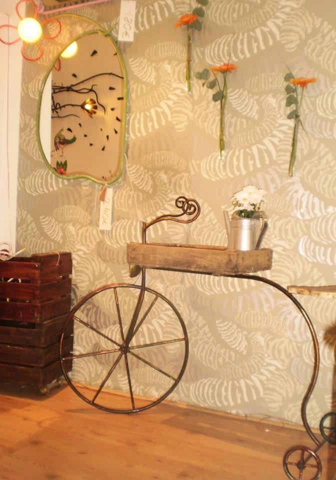 Bicicleta y espejo