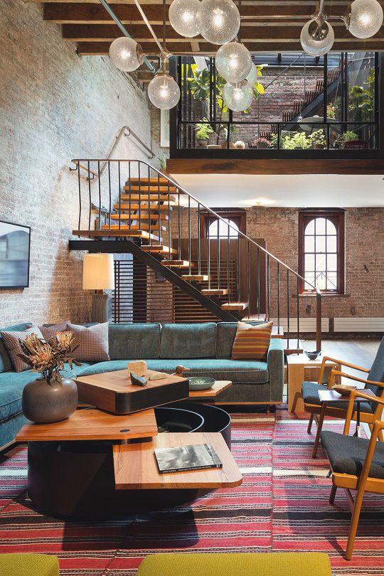 livingpursuit: Tribeca Loft by Andrew Franz