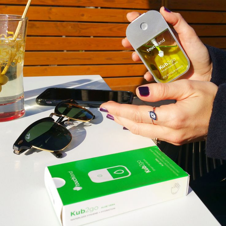 Meet the KUB2go: your Smart HandCare on the go! Waterless Hygiene + Hydration on the go. www.touchland.com/ #handsanitizer #touchland #kub2go #sanitizer #smartcare #newyork #fancy #fancydotcom  #fashion #lifestyle