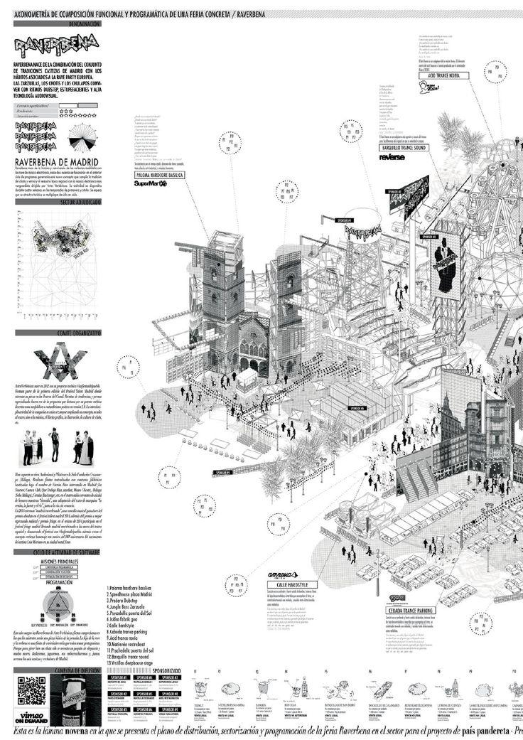 PFC by MONEDITAS - issuu. Arquitectura. Dibujos. Perspectivas. Presentaciones