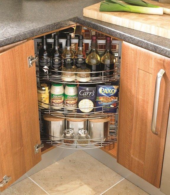 Kitchen Cabinet Corner Solutions: Clever Kitchen Storage Solutions