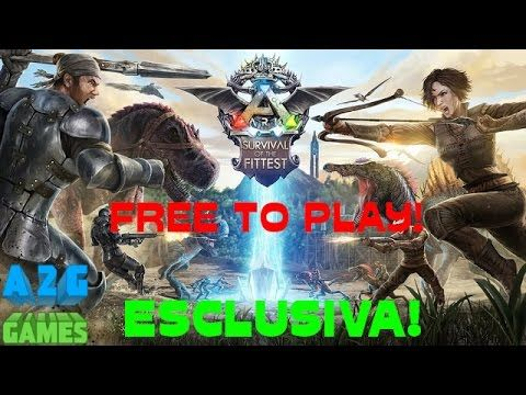 ARK Survival Of The Fittest ESCLUSIVA Battle Royale Hunger Games Gratis Free Gameplay ITA Let's Play - Best sound on Amazon: http://www.amazon.com/dp/B015MQEF2K -  http://gaming.tronnixx.com/uncategorized/ark-survival-of-the-fittest-esclusiva-battle-royale-hunger-games-gratis-free-gameplay-ita-lets-play/