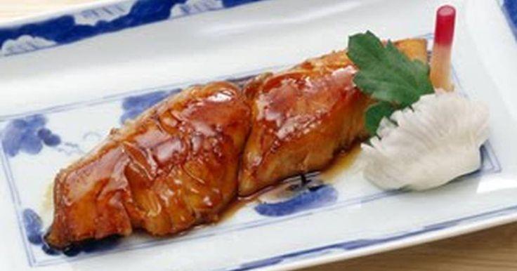 Great recipe for Spanish Mackerel Teriyaki. This is an original recipe from Yamasa, the maker of this soy sauce.   Recipe by Yamasashoyu