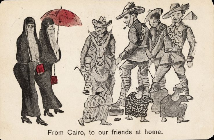 BA2838: To Cairo from our friends at home. Postcard, 1916.  http://encore.slwa.wa.gov.au/iii/encore/record/C__Rb4823097__Sfrom%20cairo%20to%20our%20friends__Orightresult__U__X6?lang=eng&suite=def