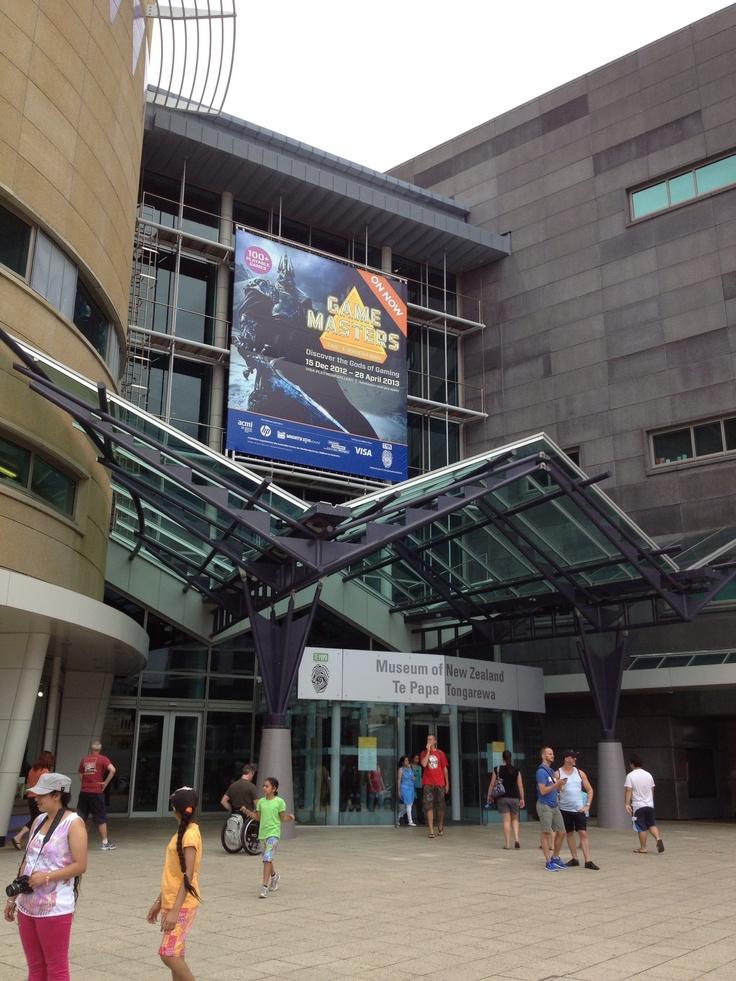 Te Papa Museum Wellington, New Zealand Free 7 days a week