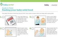 Introducing solid food | BabyCenter 7 Signs that your baby is ready for solid foods