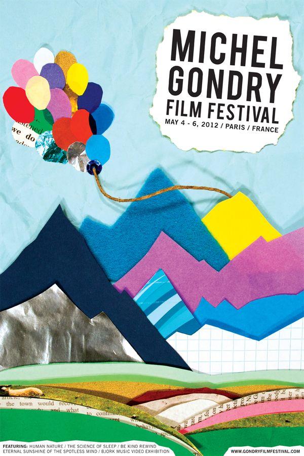 Michel Gondry Film Festival by Matthew Giuliari, via Behance