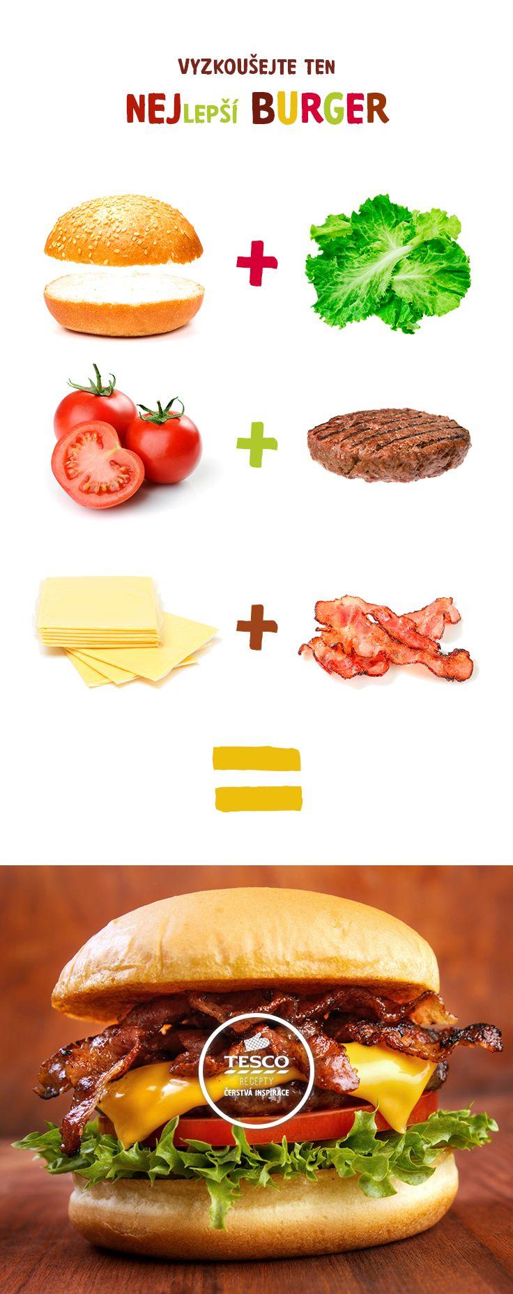 Vyzkoušejte výborný grilovaný cheeseburger! ;-)