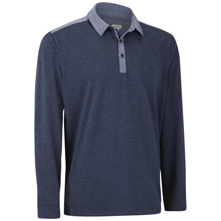Ashworth Golf: Long Sleeve Cotton Blend with Woven Detail Polo - $16 Plus Free Shipping #LavaHot http://www.lavahotdeals.com/us/cheap/ashworth-golf-long-sleeve-cotton-blend-woven-detail/136877