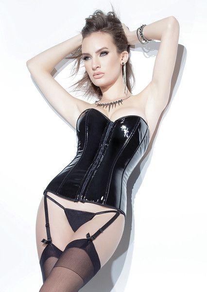 PVC Boned Sexy Corset: S-4X