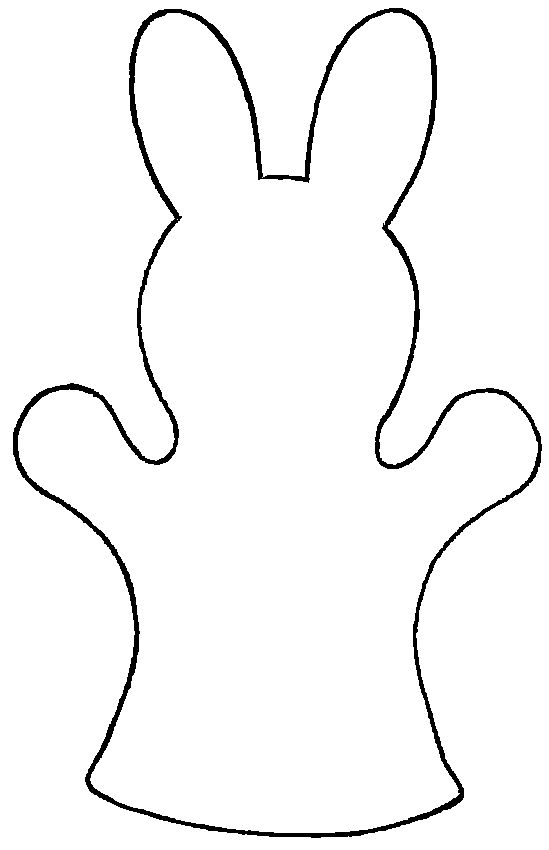 FunRoom: Easter: Bunny Puppet Pattern