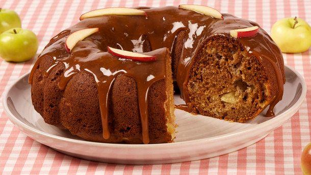 Honey-Caramel Apple Bundt Cake
