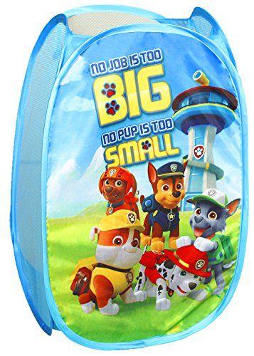 Nickelodeon Paw Patrol Po up Hamper Toy Storage
