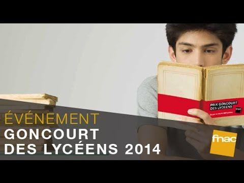 Académie Goncourt - Le Goncourt des Lycéens