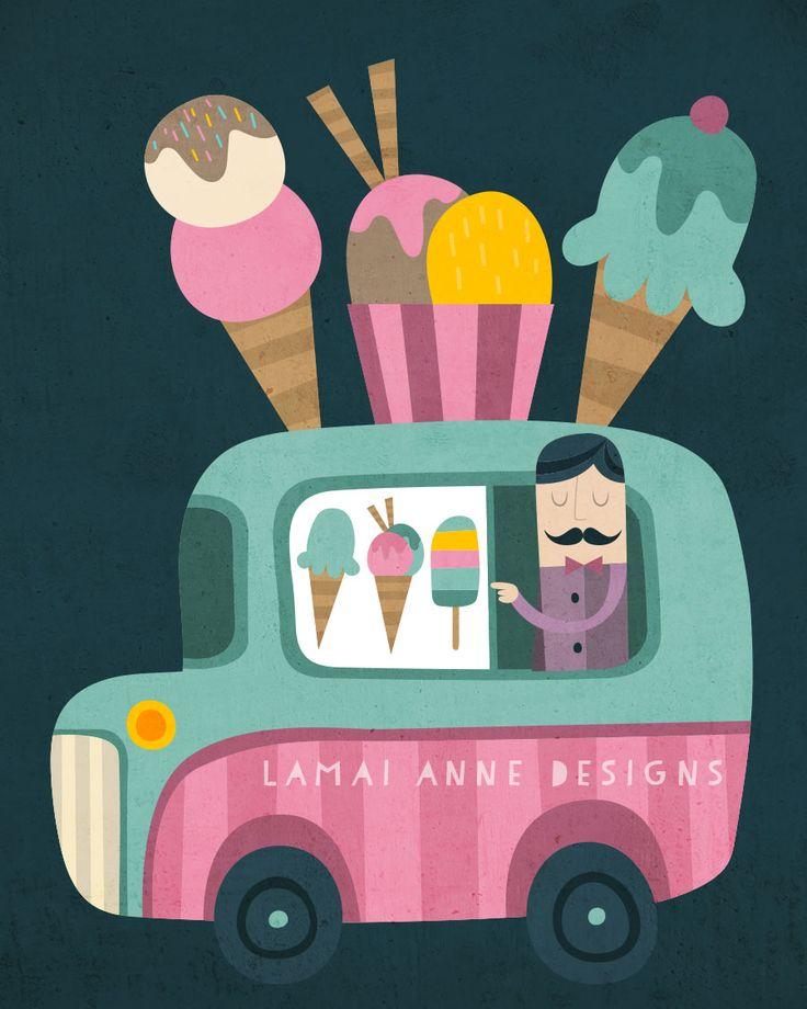 Lamai McCartan: Ice Cream Van