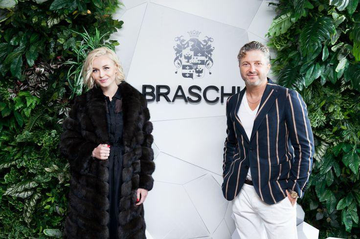 Polina Gagarina and Maurizio Braschi #braschifur #luxury #fuur #classy #fashion