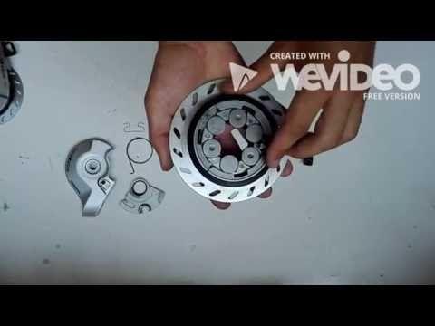 Hoe maak je een Shimano Roller Brake remroller monteren? BR-IM45R - YouTube