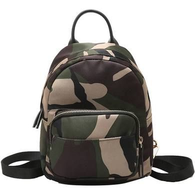 7a91cefbff Cute Women Mini Camouflage Shoulder Bag Backpack Outdoor Casual Small