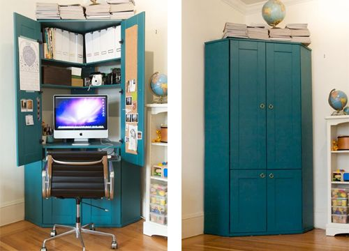 Corner office cabinet?? Love!