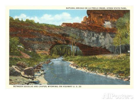 Natural Bridge, La Prele Creek, Casper, Wyoming