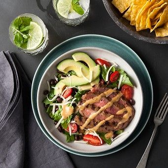 ... Steak Salad: Salad Recipes, Chipotle Steaks, Steaks Salad, Steak Salad
