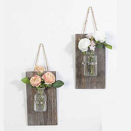 Creative Handcrafted Wall Vases, Hanging Vases, Wall Plan...