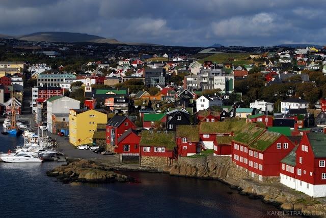 Torshavn, the capital of the Faroe Islands