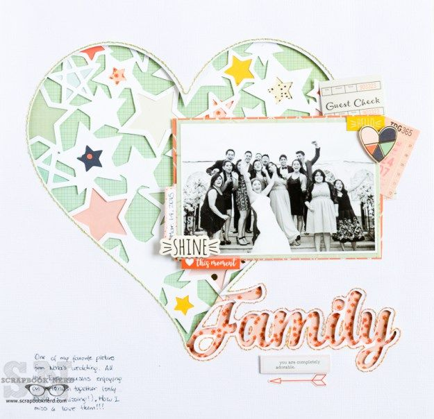 Family layout - Silhouette tutorial for layering cut files