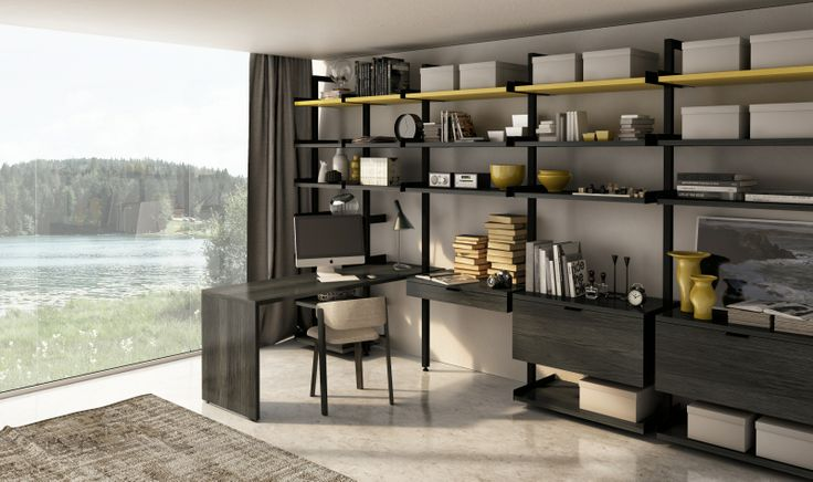 Designed by Joel Dupras, the Gravity is a fully customizable walk in closet system, loft wardrobe system, audio living system, work environment, or simply a system as is needed by space to complete. huppe.net
