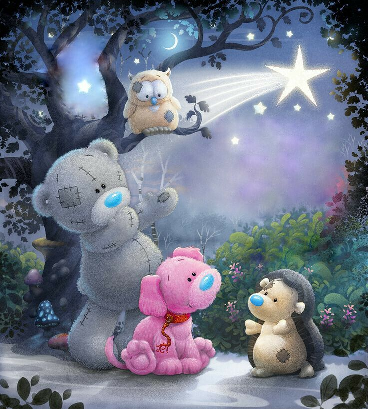 ●•‿✿⁀Taɬɬy Teddy & My Blue Nose Friends‿✿⁀•● | Star-gazing