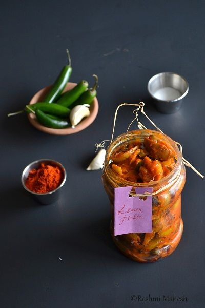 Easy Cook: Kerala Naranga Achaar/ Lemon/Lime Pickle