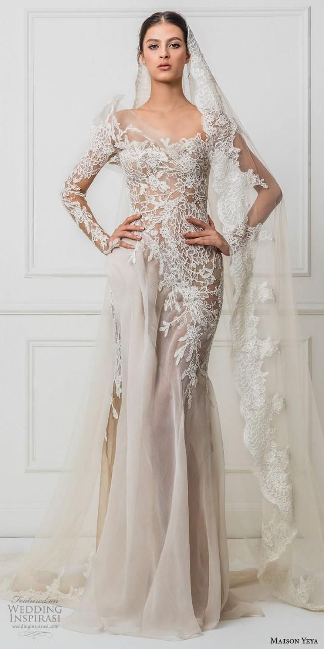 "Maison Yeya 2017 Wedding Dresses — ""Les Réfugiés D'amour"" Bridal Collection"