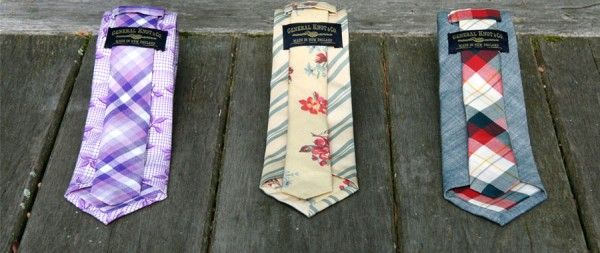 fashionable spring ties for the groom
