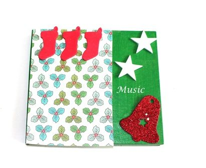 Music lover in the family or a friend? Decorate a CD case just for them this holiday season using Shamrock Craft's CD case.